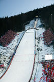The World Cup Zakopane 2008. The World Cup Ski Jumping on Large Hill in Zakopane 2008 Stock Photography