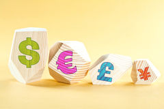 World currencies Stock Photos
