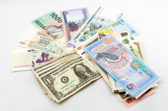 World Currencies Royalty Free Stock Photo