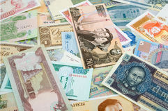 World Currencies Royalty Free Stock Photos