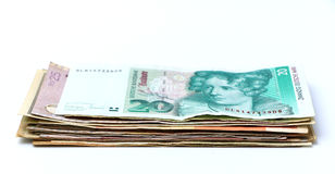 World Currencies Stock Photography