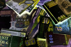 World Currency 1. Suitable for background depicting world currency Royalty Free Stock Photos