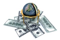 World currency Royalty Free Stock Image