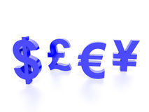 World Currency concept graphic Royalty Free Stock Image