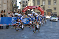 World Cycling Championship Royalty Free Stock Photo