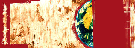 World in danger Royalty Free Stock Images