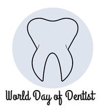 World Day of Dentist Royalty Free Stock Photography