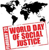 World day of social justice Stock Photos