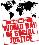World day of social justice Stock Photo