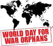World day for war orphans Royalty Free Stock Photos