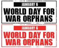 World day for war orphans Royalty Free Stock Photo