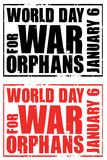 World day for war orphans Royalty Free Stock Image