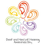 World Deaf Day Stock Image