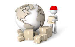 World deliver Stock Images