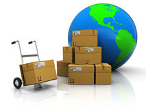 World delivery Stock Photography