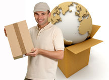 World delivery Stock Image