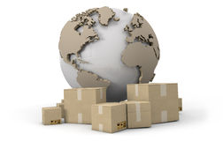 World delivery Royalty Free Stock Photos