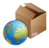 world delivery concept Royalty Free Stock Photo