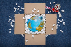 World delivery Royalty Free Stock Images