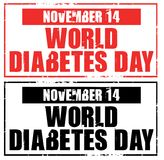 World diabetes day Stock Photography
