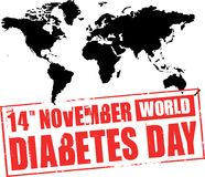 World diabetes day Stock Images