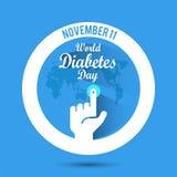 World Diabetes Day vector illustration