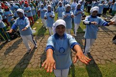 World Diabetes Day in Indonesia Royalty Free Stock Photos