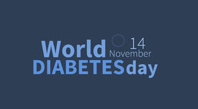 Free World Diabetes Day, November 14th Banner Stock Images - 80673954