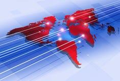 World Digital Communications Royalty Free Stock Photography