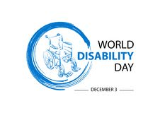 World Disability Day concept concept. December 3