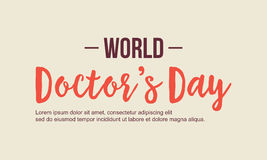 World doctor day background style Royalty Free Stock Photos