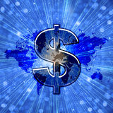 World Dollar Royalty Free Stock Image