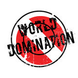 World Domination rubber stamp Stock Images