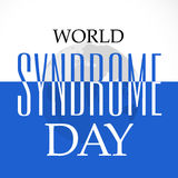 World Down Syndrome Day Stock Photo