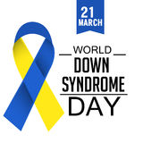 World Down Syndrome Day Royalty Free Stock Image