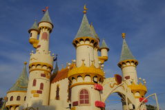 World Of Dreams castle float at the 122nd tourname Stock Images