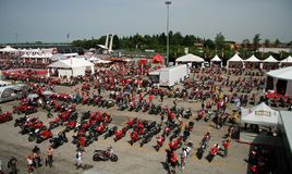 World Ducati Week - WDW 2010 Stock Image