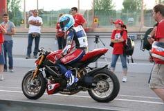 World Ducati Week - WDW 2010 Stock Image