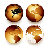 World (earth) Royalty Free Stock Photos