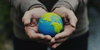 World Eco Safe Globe Concept Stock Images