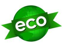 World Eco Seal royalty free illustration