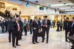 World Economic Forum Annual Meeting 2016 in Davos, Switzerland Royalty Free Stock Image