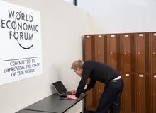 World Economic Forum Annual Meeting 2016 in Davos, Switzerland Stock Photography
