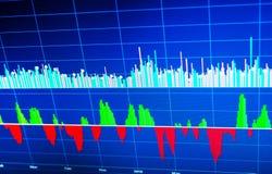 World economics graph. Conceptual view of exchange market stock photos