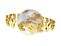 World economy Royalty Free Stock Photo