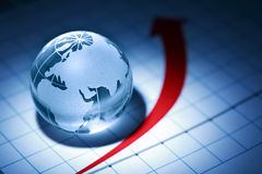 World Economy Royalty Free Stock Images