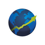 World economy growing Stock Photos