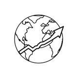 World economy growing Royalty Free Stock Photography