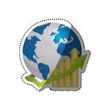 World economy growing Royalty Free Stock Photo