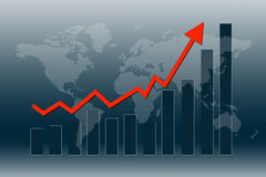 World economy recover Stock Images